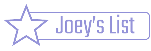 Joey's List Logo